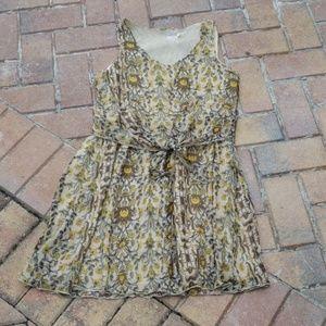Blu Pepper Summer Dress Sz S